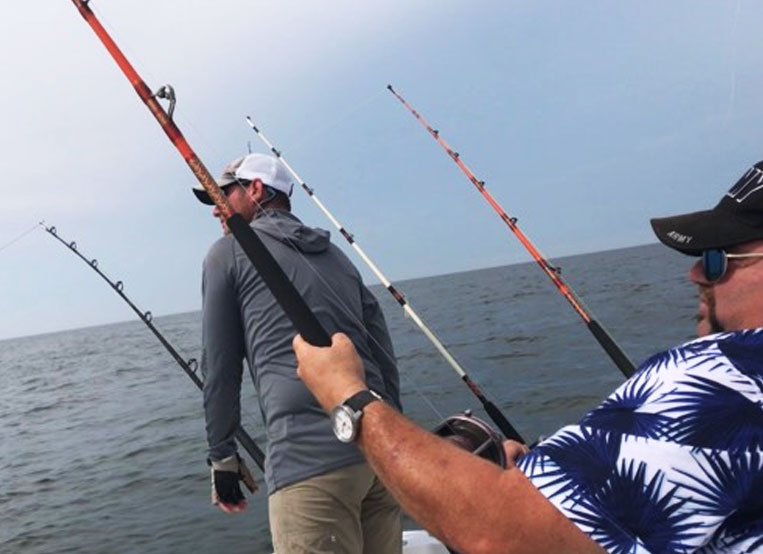 TROLLING FOR REDFISH